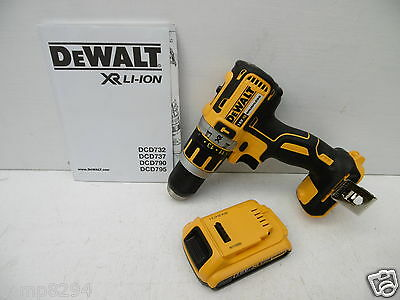 Dewalt Dcd795 Xr Li-Ion 18V Brushless Hammer Drill Bare Unit + Dcb183 Battery