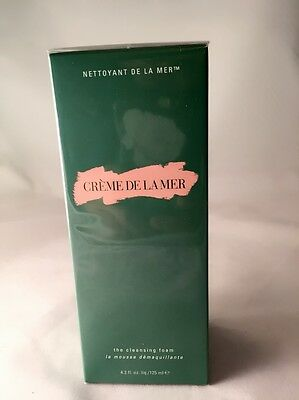 Creme De La Mer The Cleansing Foam 125ml 100% New Sealed