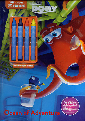 Finding Dory coloring book RARE UNUSED