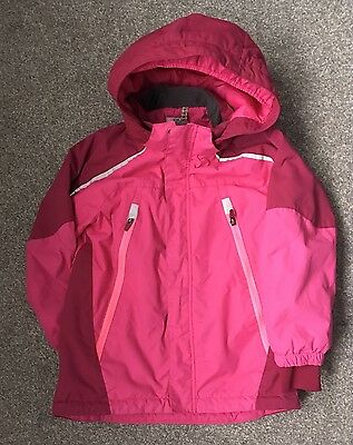 Girls H&M Pink Winter Coat Age 5y-6yrs