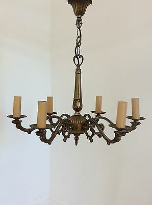 Antique Style Brass Chandelier