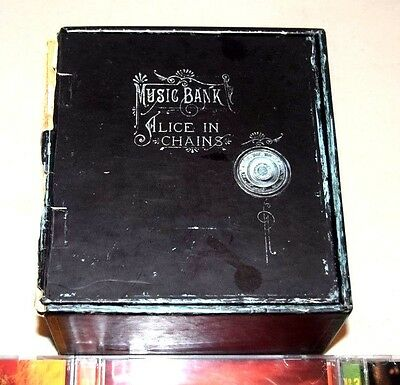 Alice In Chains Music Bank 4 CD Box Set With Book-Used