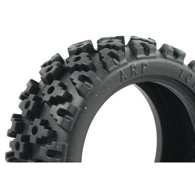 Rally Block Blue Compound 1/10 Tyre Set - FAST372