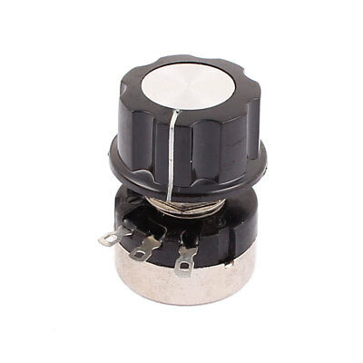 3 Pin B105 Rotary Wirewound Potentiometer Adjustable Resistance