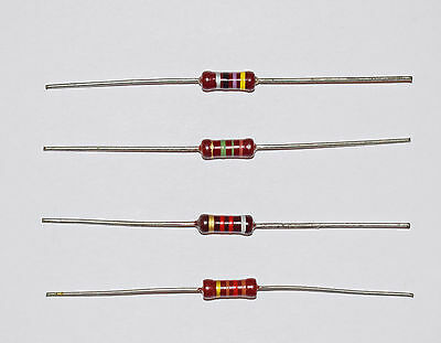 10 PIECES PIHER 1/2w RESISTOR VALUES AVAILABLE FROM 10R TO 10M