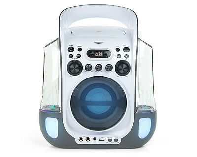 Goodmans XB12CDG Cd-G Water fountain Karaoke System With Led Light Display
