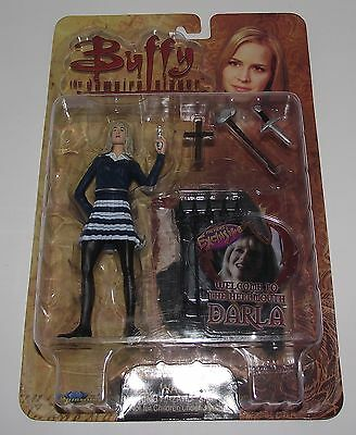"""Buffy The Vampire Slayer WELCOME TO THE HELLMOUTH DARLA 6"""" Action Figure"""