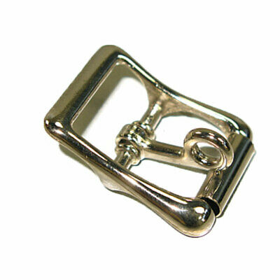 Strap Buckle w/Locking Tongue Nickel Plated 1""