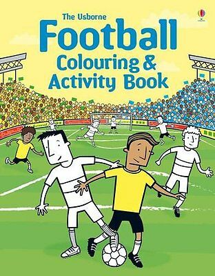 Football Colouring and Activity Book,New Condition