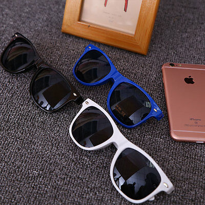 Kid Wayfarer Style Eyeglasses Fashion Sunscreen Retro UV-400 Eyewear Sunglasses