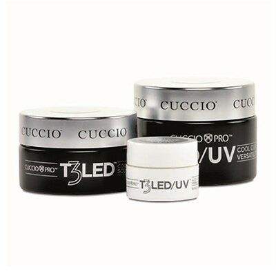 Cuccio Pro - T3 LED/UV Self Leveling Gel - 1oz / 2oz - Choose From Any