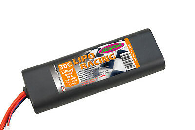 Jamara 141390 Akkupack LiPo-Racing 7,4V 5000mAh 2N 30C Akku Batterie RC Power