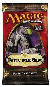 """Magic the Gathering Bustina/Booster Pack """"Patto delle Gilde/Guildpact"""" italia..."""