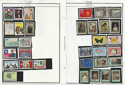 Caribean Island 1973-1995 Collection on Harris Pages, Over 50 Stuffed Pages