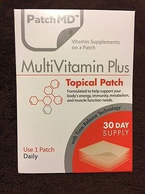 PatchMD MultiVitamin Plus  * 30 Day Supply