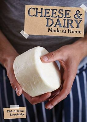 CHEESE AND DAIRY     MADE AT HOME Book Cow Goat Milk How-to Butter Cream NEW `@