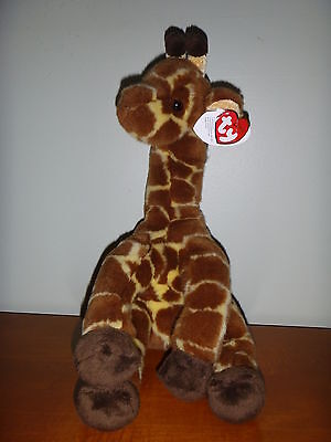 "Ty Beanie Baby Classic Collection Stuffed Giraffe ""Hi Tops"""