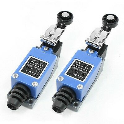 2 Pcs ME-8104 Rotary Roller Arm Limit Switch for CNC Mill Plasma
