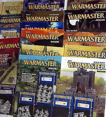 Warmaster Magazine Warhammer 10mm Fantasy Army Games Workshop miniature select 1