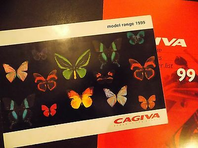 Cagiva Model Range Brochure 1999