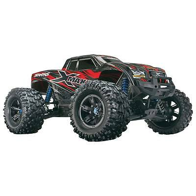 Traxxas 1/7 Scale X-Maxx Monster Truck 4x4 Brushless RTR (Red)  TRA77076-4