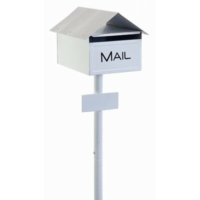 Economy Mailbox - Crimped Cottage Letterbox and Post