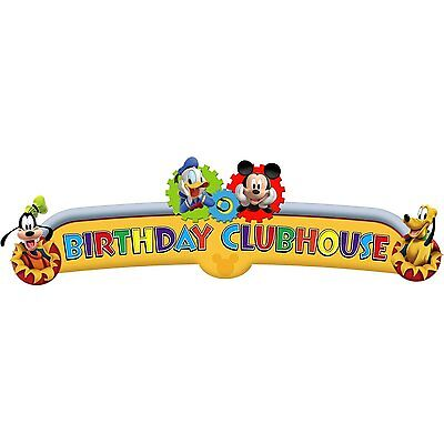 Disney Mickey Mouse ~ (1) Birthday Clubhouse Banner ~ Birthday Party Decorations