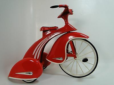 1930s Pedal Car Rare Tricycle Vintage Classic Precision Red Midget Show Model