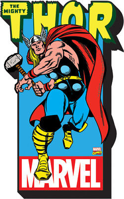 Marvel- the Mighty Thor W/Logo Funky Chunky Magnet