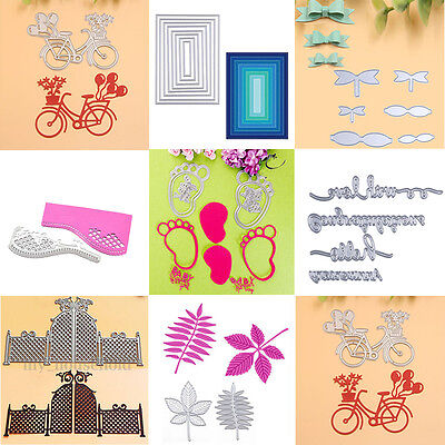 Metal Cutting Dies Stencils for DIY Scrapbooking Photo Diary Album Paper Crafts