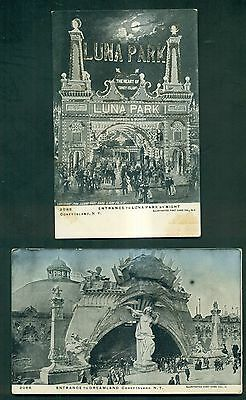 1906 Coney Island,NY Postcards Group of 15 Different