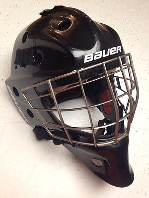Bauer NME7 Senior Goalie Helmet Fit 1