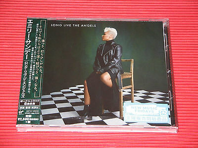 EMELI SANDE Long Live The Angels with Bonus Tracks (Total 20 tracks)  JAPAN CD