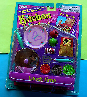 Nrfb Mib Moc Tyco Kitchen Littles Lunch Time 1995