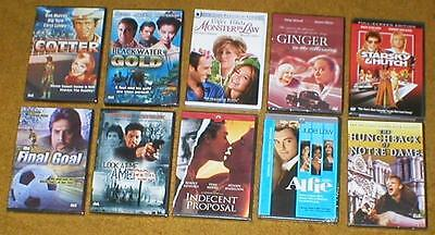 Wholesale Lot of 10 Popular DVD Movies - All Brand-New & Sealed