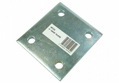 Maypole MP232 Zinc Plated 4Inch Drop Plate