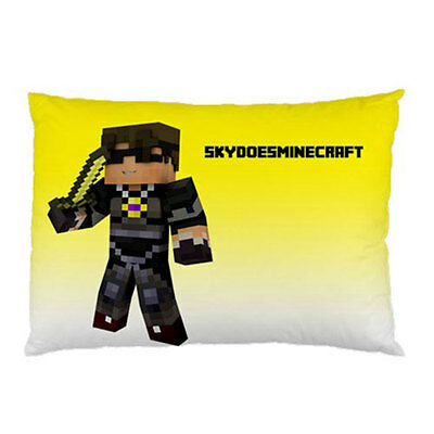 """Sky Does Minecraft Pillow Case 30""""x20"""""""