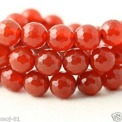 """10 mm AAA Red Ruby Round Loose Beads Gemstone 15/"""" + AAA"""