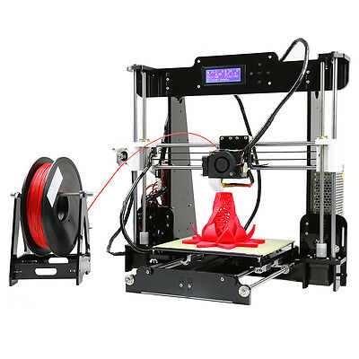 ANET A8 DIY 3D Printer Kit - High Precision, Metal Frame, Multiple Filaments