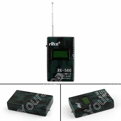 RK560 Frequency Counter CTCSS/DCS Decoder 50-2400 Mhz Walkie Talkie Radio