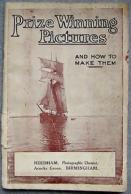 APeM PHOTOGRAPHIC CATALOGUE Ca 1920's - EARLY 1930's. PRIZE WINNING PICTURES