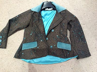 INFANCY  JACKET 8 Years . Velvet detail .Stunning !!! New no tags