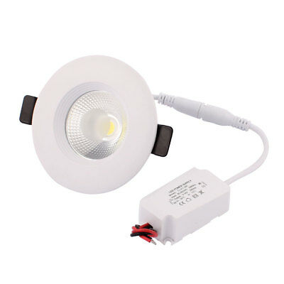 AC85-265 3W COB chip LED Ceiling Spot Downlight Lamp Bulb Recessed Pure White