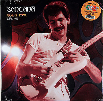 Santana - Going Home Live 1973 Box Set 3X Vinyl Is In Mexican Flag Colours