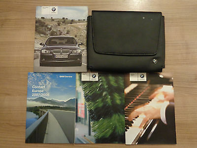 BMW 3 Series Owners Handbook/Manual and Wallet 05-08