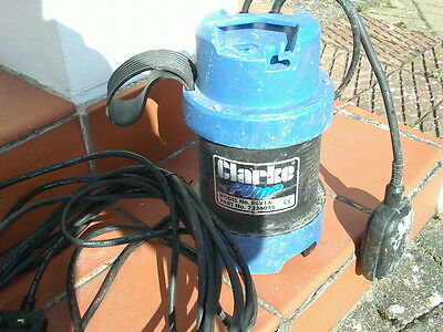 submersible pump ideal for pond cleaning