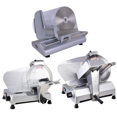 "8.5/10/12"" Blade Commercial Meat Slicer Deli Veggie Cheese Food Cutter Kitchen"