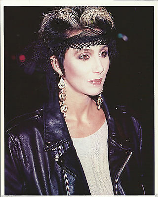 "Cher 8"" x 10"" Color Press Photo-from The I Paralyzed Era-#170-1985"