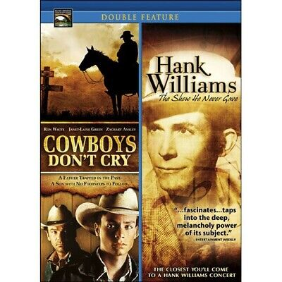 Cowboys Don't Cry & Hank Williams: Show He Never [New DVD]