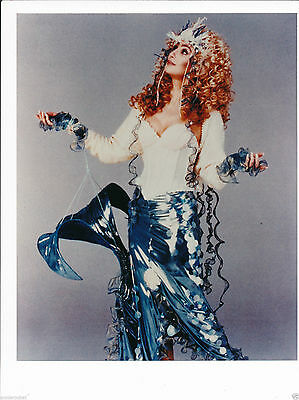 "Mermaids 8"" x 10"" Color Candid Still Photo of Cher-#196-1990"